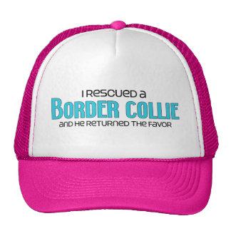 I Rescued a Border Collie (Male Dog) Cap