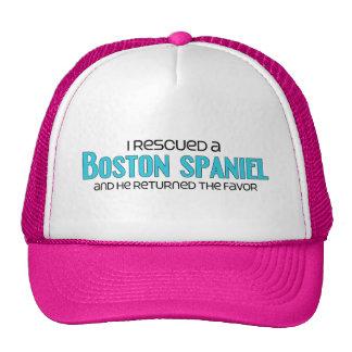 I Rescued a Boston Spaniel (Male) Dog Adoption Cap