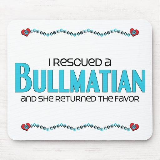 I Rescued a Bullmatian (Female) Dog Adoption Mousepads