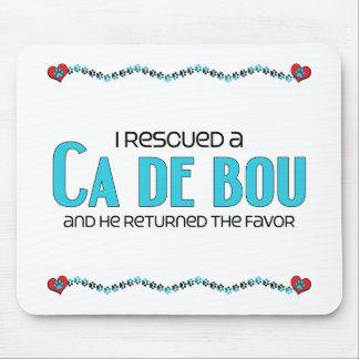 I Rescued a Ca de Bou (Male Dog) Mouse Pad