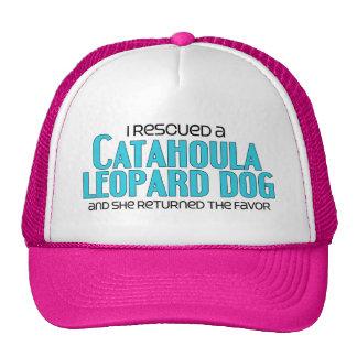 I Rescued a Catahoula Leopard Dog (Female Dog) Cap