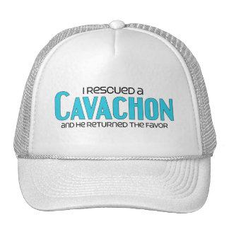 I Rescued a Cavachon (Male) Dog Adoption Design Trucker Hat