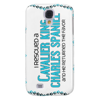 I Rescued a Cavalier King Charles Spaniel (Male) Galaxy S4 Case