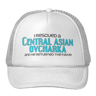 I Rescued a Central Asian Ovcharka (Male Dog) Cap