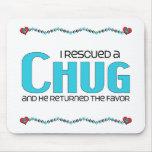 I Rescued a Chug (Male) Dog Adoption Design Mouse Mat