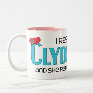 I Rescued a Clydesdale (Female Horse) Coffee Mugs