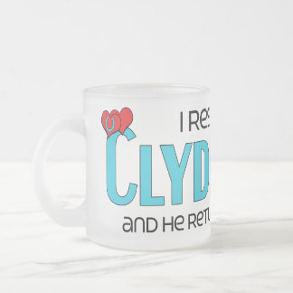 I Rescued a Clydesdale (Male Horse) Mugs