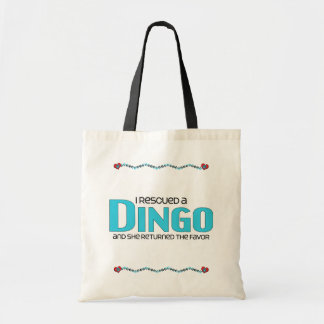 I Rescued a Dingo (Female Dog) Tote Bag