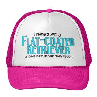 I Rescued a Flat-Coated Retriever Male Dog Trucker Hat