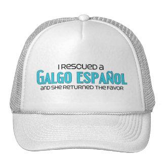 I Rescued a Galgo Español (Female Dog) Trucker Hat