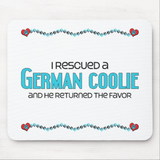 I Rescued a German Coolie (Male Dog) Mouse Pads