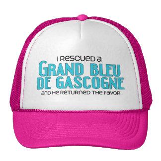 I Rescued a Grand Bleu de Gascogne (Male Dog) Cap