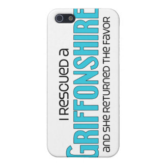 I Rescued a Griffonshire (Female) Dog Adoption iPhone 5 Covers