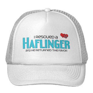I Rescued a Haflinger (Male Horse) Hat