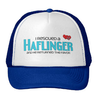 I Rescued a Haflinger (Male Horse) Trucker Hats