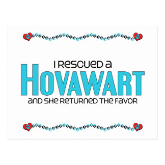 I Rescued a Hovawart (Female Dog) Postcards
