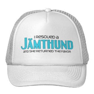 I Rescued a Jämthund (Female Dog) Cap