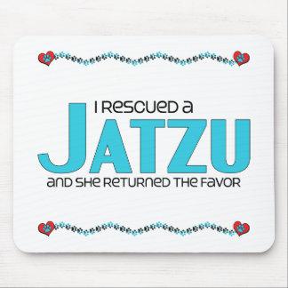 I Rescued a Jatzu (Female) Dog Adoption Design Mousepad