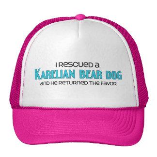 I Rescued a Karelian Bear Dog (Male Dog) Mesh Hat