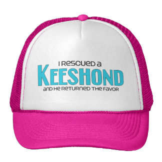 I Rescued a Keeshond (Male Dog) Cap