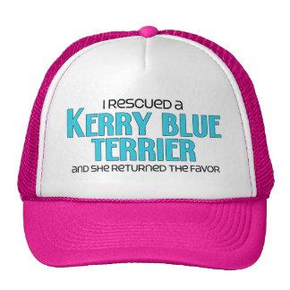 I Rescued a Kerry Blue Terrier (Female Dog) Cap