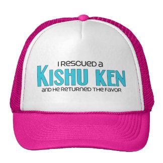 I Rescued a Kishu Ken (Male Dog) Cap