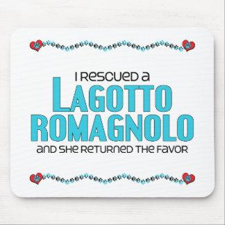 I Rescued a Lagotto Romagnolo (Female Dog) Mousepads