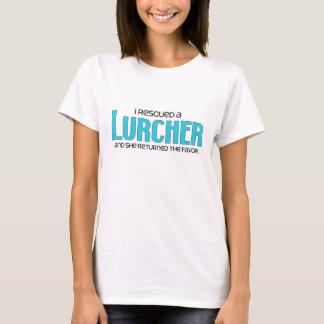 I Rescued a Lurcher (Female Dog) T-Shirt