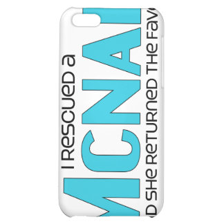 I Rescued a McNab (Female Dog) Cover For iPhone 5C