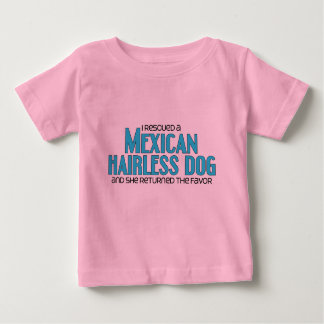I Rescued a Mexican Hairless Dog (Female Dog) Tshirts