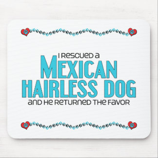 I Rescued a Mexican Hairless Dog Male Dog Mousepad