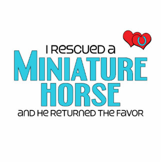I Rescued a Miniature Horse (Male Horse) Photo Sculptures