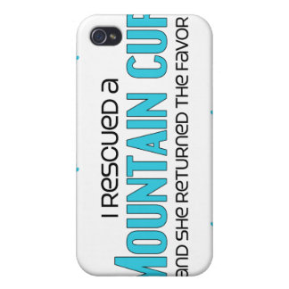 I Rescued a Mountain Cur (Female Dog) iPhone 4/4S Covers