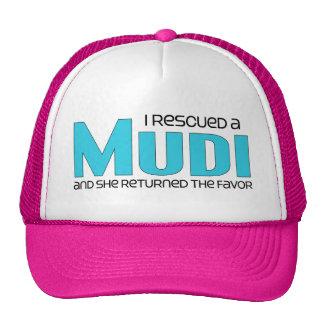 I Rescued a Mudi (Female Dog) Cap