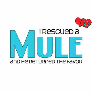 I Rescued a Mule Male Mule Photo Cut Outs