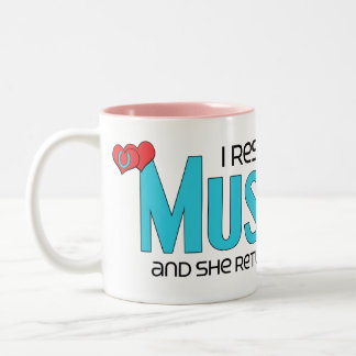 I Rescued a Mustang (Female Horse) Mugs