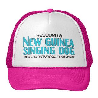 I Rescued a New Guinea Singing Dog (Female Dog) Cap