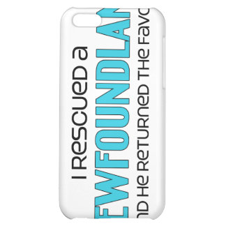 I Rescued a Newfoundland (Male Dog) iPhone 5C Cover