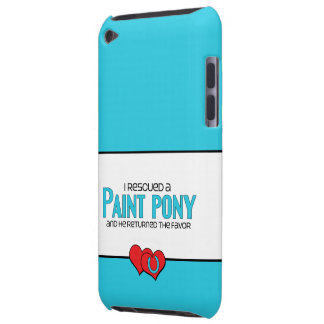 I Rescued a Paint Pony Male Pony iPod Case-Mate Cases
