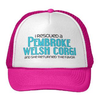 I Rescued a Pembroke Welsh Corgi (Female Dog) Cap