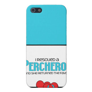 I Rescued a Percheron (Female Horse) Cases For iPhone 5