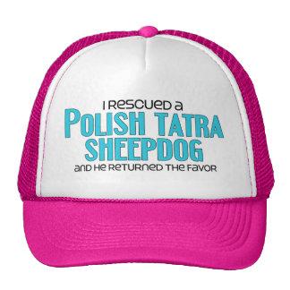 I Rescued a Polish Tatra Sheepdog (Male Dog) Trucker Hat