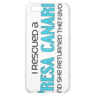 I Rescued a Presa Canario (Female Dog) iPhone 5C Cover