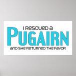 I Rescued a Pugairn (Female) Dog Adoption Design