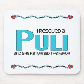 I Rescued a Puli (Female Dog) Mouse Pads