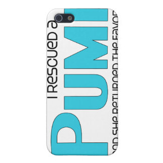 I Rescued a Pumi (Female Dog) Covers For iPhone 5