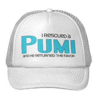 I Rescued a Pumi (Male Dog) Trucker Hat