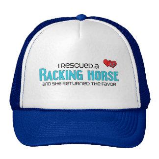 I Rescued a Racking Horse (Female Horse) Cap