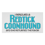 I Rescued a Redtick Coonhound (Female Dog)