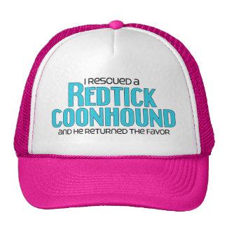 I Rescued a Redtick Coonhound (Male Dog) Cap